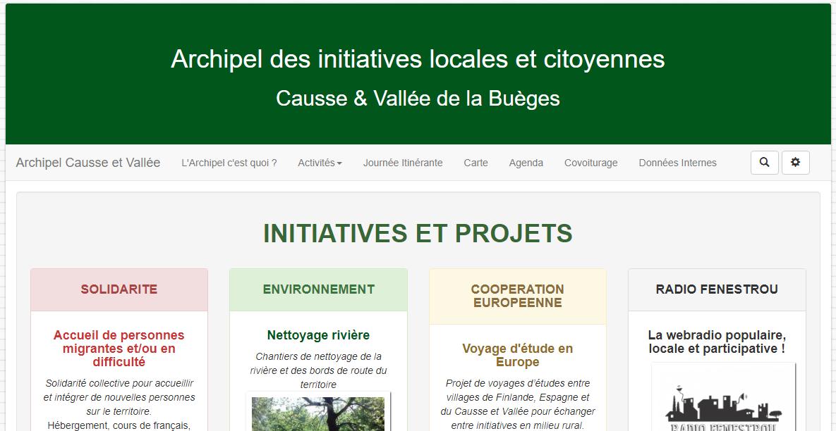 site web archipel